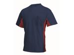 Afbeelding van Jong Shirt Tricorp navy/rood installatie