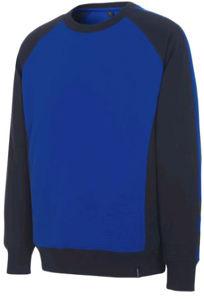 Afbeelding van Derwort sweater mascot witten blauw/marine