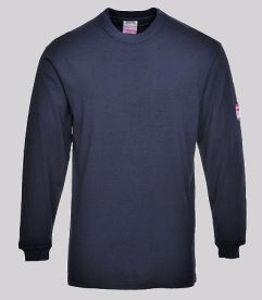 Afbeelding van Jong T-shirt vlamvertragend FR11 marine